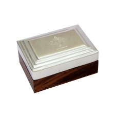 Gentlemen's Keepsake Box with Royal Jodhpur Crest Small