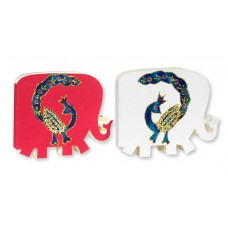 Set of 2 Elephant Shape Notepads